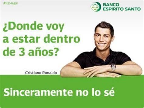 cristiano ronaldo banco espirito santo cristiano ronaldo huye esp 237 rito santo al novo banco