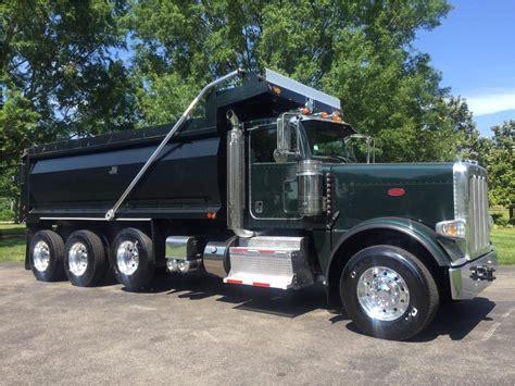 peterbilt dump truck peterbilt 389 dump trucks for sale used trucks on