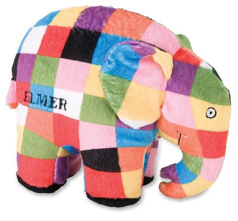 Patchwork Bean Bag - elmer the patchwork elephant bean bag by preferred