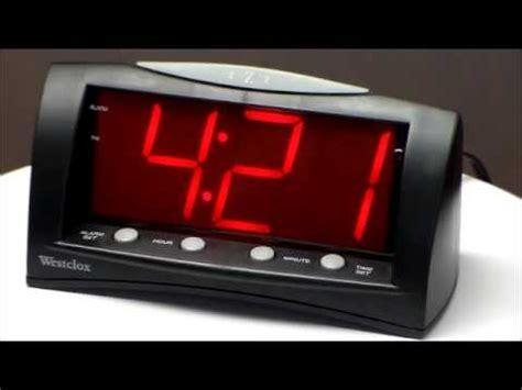 westclox 66705 large display alarm clock