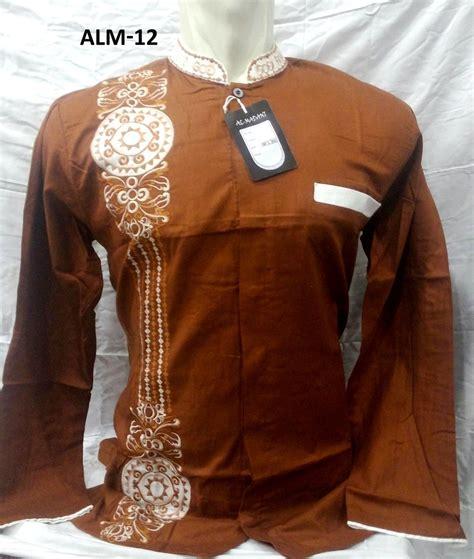 Baju Koko Lengan Panjang Baru 12 warna baju koko al madani lengan panjang murah