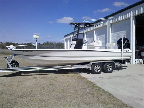 triton bay boats for sale 2008 triton 240 lts bay boat loaded low hours the hull