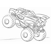 Coloring Fun The Printable Monster Truck Pages