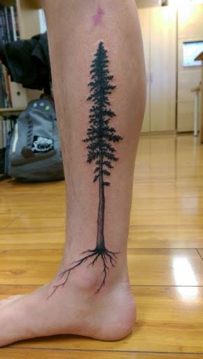 tree leg tattoo designs 32 tree tattoos on leg