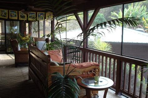 what is a lanai room the lanai our room picture of aloha guest house captain cook tripadvisor