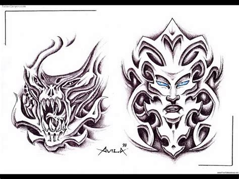 free tattoo designs stencils download bio mechanical tattoos designs free design 5378521