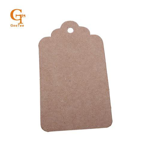 printable kraft paper hang tags vintage scallop blank kraft brown price price paper