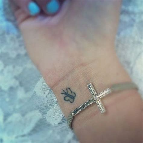 small black butterfly tattoo best 25 butterfly wrist ideas on tiny