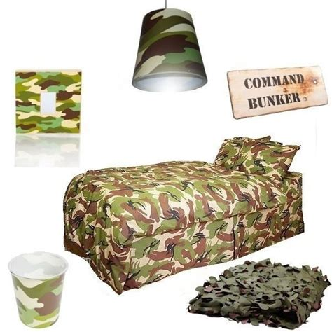 camouflage bedroom set army camo themed bedroom set includes bedding camo