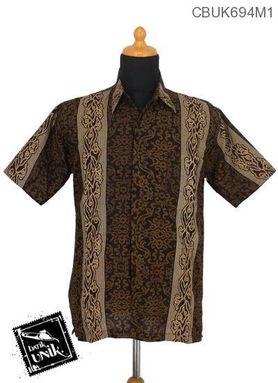Kemeja Batik Songket Katun kemeja batik motif mego songket kemeja lengan pendek