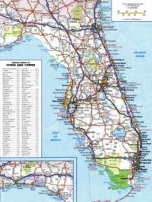 florida map highways large detailed roads and highways map of florida state