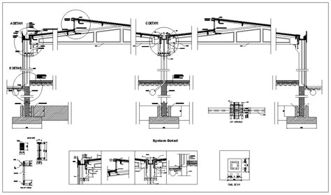 steel structure details v2 cad drawings cad