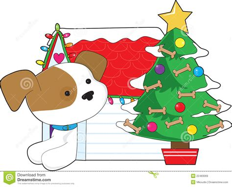 dog house christmas tree christmas dog house royalty free stock images image 22483069