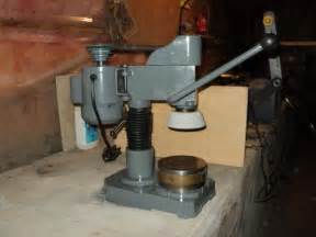 Bench Grinding Home Made Surface Blanchard Grinder
