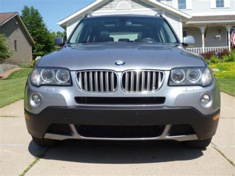 2007 bmw x3 bluetooth buy used 2007 bmw x3 3 0si navigation leather moonroof
