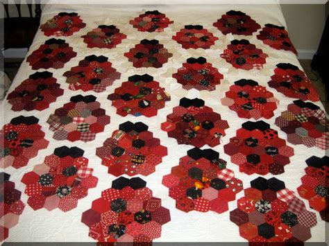 Ladybug Quilt Patterns by Ladybug Quilt Pattern A Version Of Grandmother S Flower