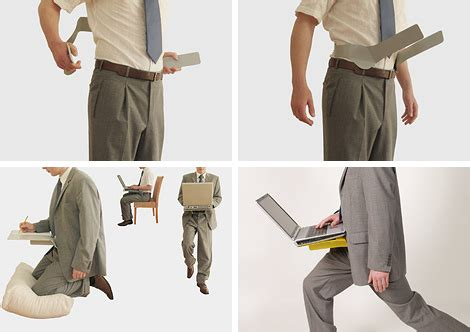 Gear Laptop Magazine Wearable Laptop Desk