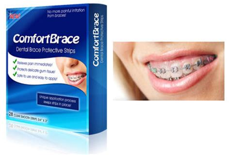 comfort covers for braces comfortbrace box of 24 protective strips