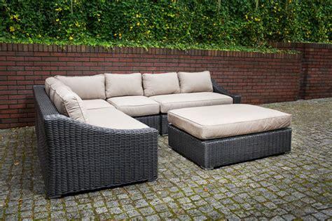 outdoor sectional toronto toja patio furniture tuscan sectional set red brick