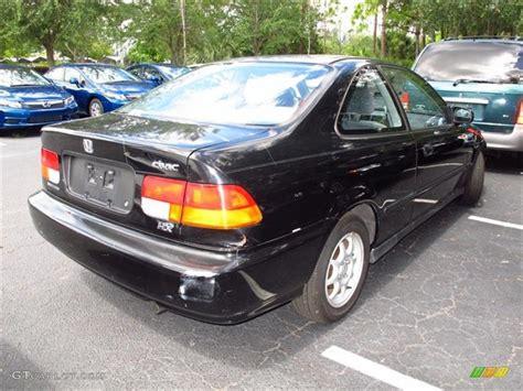 honda civic hx 1997 black pearl metallic 1997 honda civic hx coupe exterior