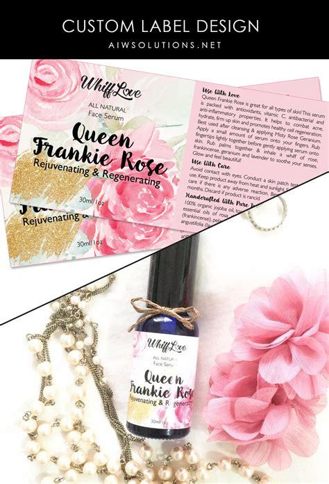 Beauty Product Label Designers Custom Label Design Label Design Hang Tag Design Soap Label Perfume Label Design Templates
