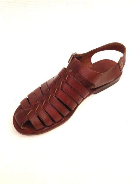 Leather Handmade Sandals - genuine leather handmade sandals for doros by