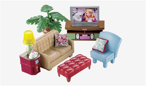Loving Family Living Room by Dollhouse Fisher Price Dollhouses Miniatures Furniture