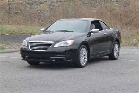 Chrysler 200 Hardtop Convertible by Sell Used Chrysler 200 Limited Hardtop Convertible In