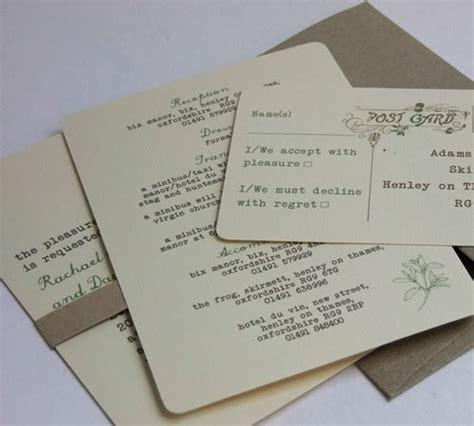 Eco Friendly Wedding Invitations Uk