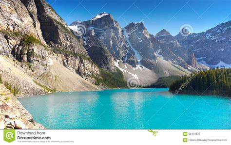more scrambles in the canadian rockies 3rd edition books canadian rockies moraine lake national park stock image