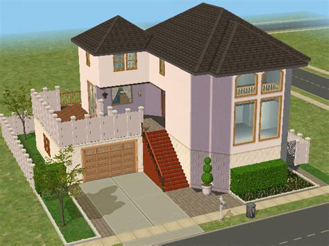 sims 2 houses mod the sims house that was included in the sims 2 nightlife made for sims 3