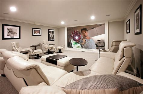 movie room recliners 10 awesome basement home theater ideas