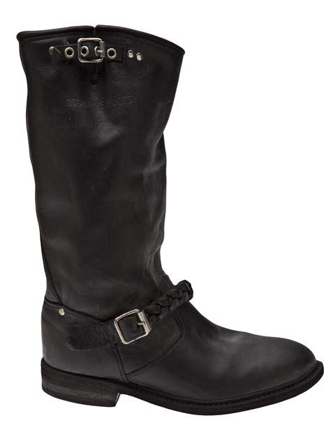 biker boots brands golden goose deluxe brand biker boots in black lyst