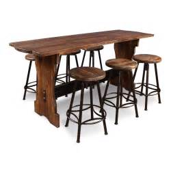 Counter Height Bistro Table Conrad 7 Counter Height Pub Table Set Wayfair