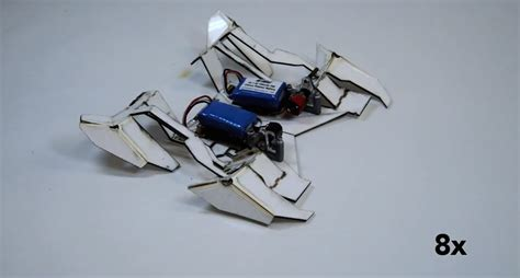 Origami Robot - origami robot inspired by nature and biomimicry