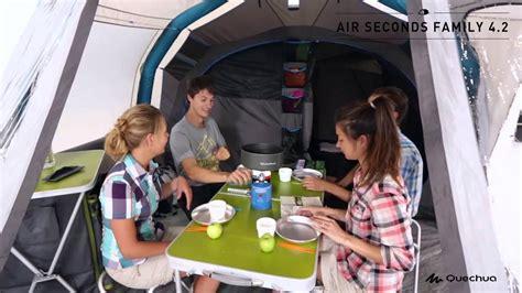 quechua tenda air seconds family  demo youtube