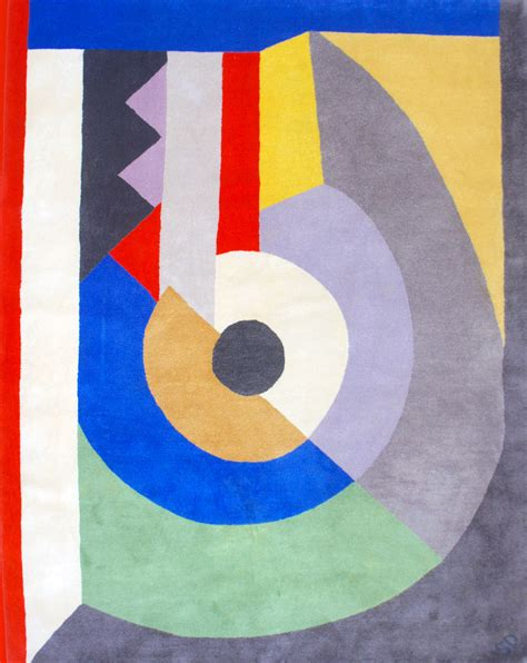 Sculpture For Home Decor by Sonia Delaunay Tapis Quot Pierrot Lunaire Quot Circa 1980
