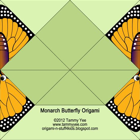 origami butterfly easy origami n stuff 4 monarch butterfly