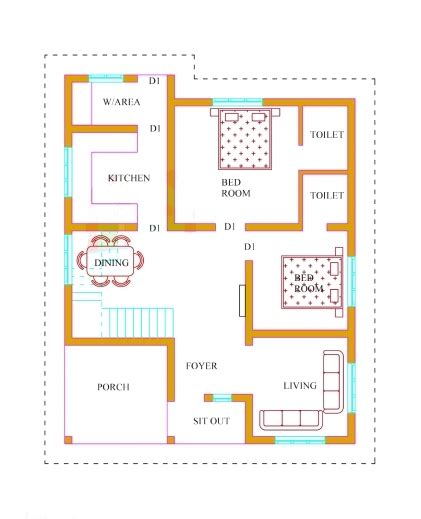 Fantastic 3 Bedroom House Plans With Photos In Kerala Arts 3 Bedroom House Plan Kerala