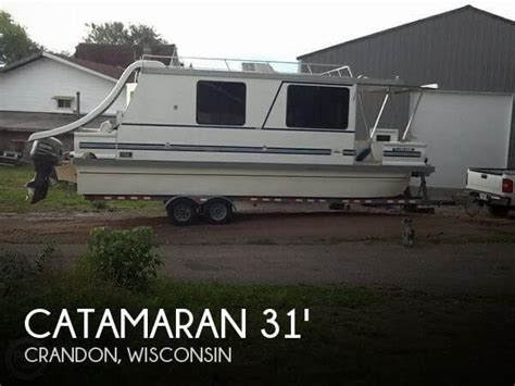 catamaran for sale wisconsin catamaran cruisers lil hobo 31 for sale in crandon wi for