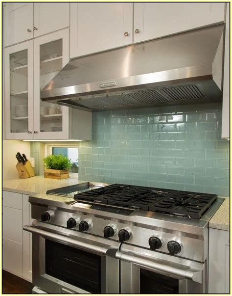 green tile kitchen backsplash green subway tile backsplash home design ideas