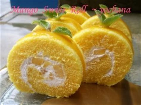 Souvenier Handuk Roll Cake Medium Size yochana s cake delight mango swiss roll