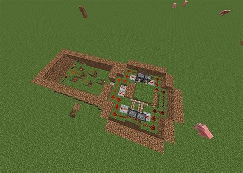 Minecraft Secret Trap Door by Trap Door With Or Gate Minecraft Project