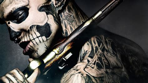 tattoo hd background skeleton tattoo wallpaper