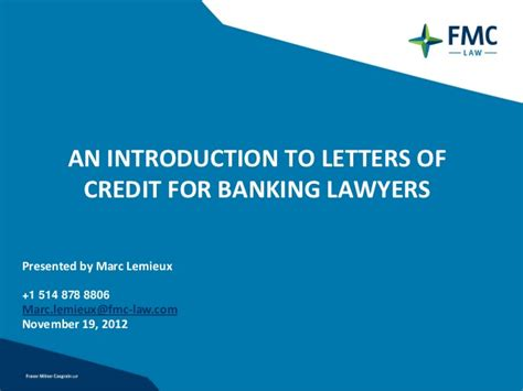 Letter Credit Là Gì An Introduction To Letters Of Credit For Banking Lawyers
