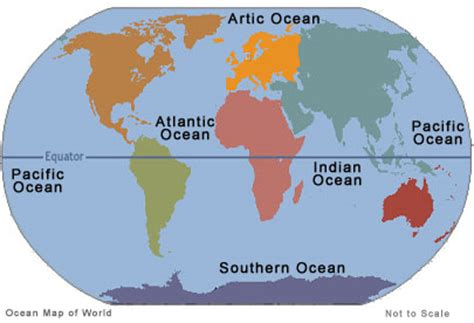map of the oceans 5 oceans of the world list news what you should