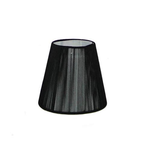 lustre applique abat jour design noir pour lustre ou applique nyala