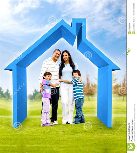 buying a house help buying a house with a guarantor family buying a house stock illustration image of