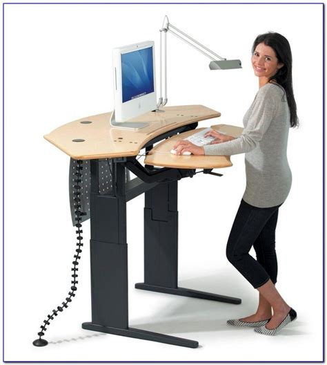 Desks For Working Standing Up Desk Home Design Ideas Work Standing Desk
