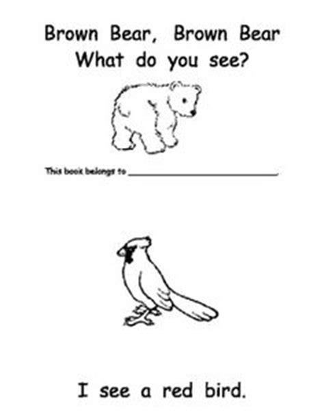 verb pattern bear bear sees colors speech language activities speech